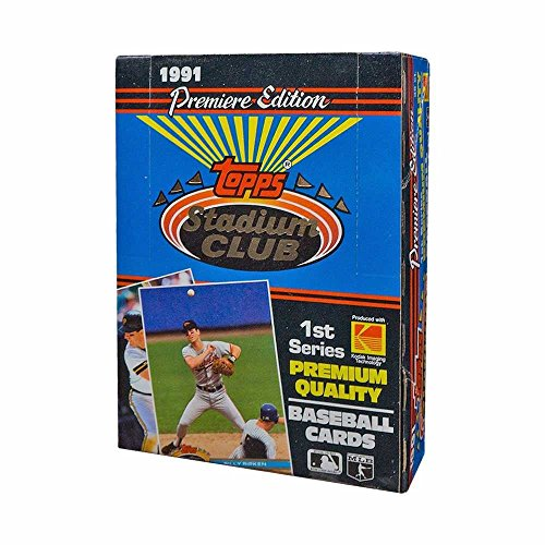 1991 Topps Stadium Club Series 1 Baseball Box