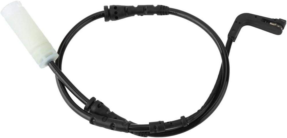 Duokon 34356762252 Sensor de desgaste de pastillas de freno delantero para 120i 130i 135i 323 328i 328xi 335i Cable negro