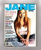Jane Magazine, April, 1999. Mariah Carey Cover. Madonna; Michael Stipe; Jennifer Grey; Goo Goo Dolls; Beck; Ginger Spice (Geri Halliwell); Helena Christensen; I Was A Hooters Girl; Rock Star Moms; Men in Rock; Stephanie Harrell Fiction; Impossible Co