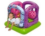 "Nick Jr. Dora The Explorer Dora Garden Of Friends Ball Pit, 1 Inflatable & 50 Sof-Flex Balls, Blue/Red/Orange, 43"" W x 43"" D x 38"" H"