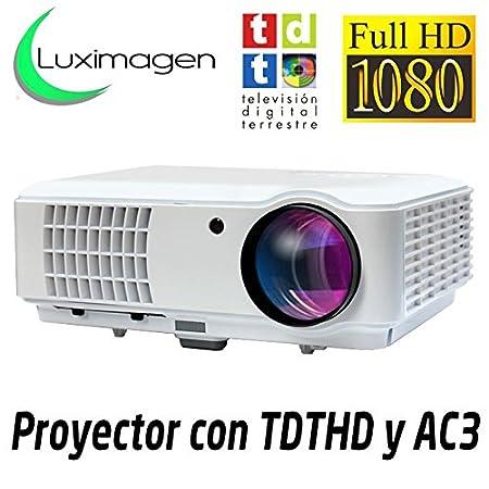 Luximagen SV100, Proyector con TDT HD/ USB/ HDMI/ VGA/ AC3 SV100 BLANCO