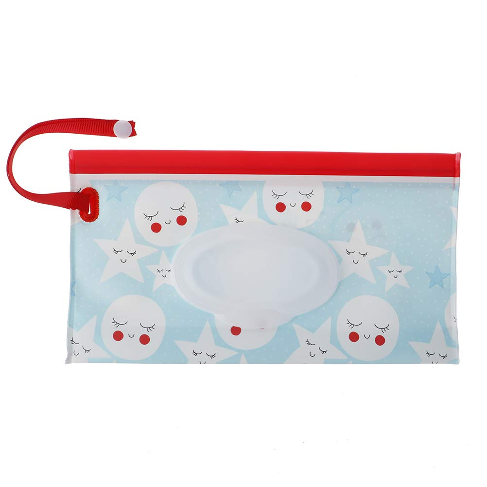 Refillable Baby Wipes Dispenser Travel Wet Wipe Case Baby Eco Friendly Wipe Pouches Panghuhu88 4Pcs Reusable Wet Wipe Pouch