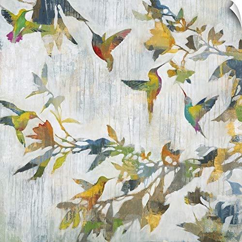 CANVAS ON DEMAND Liz Jardine Wall Peel Wall Art Print Entitled Aerial Dance 10