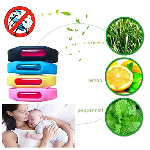Elevin Wristband Anti Mosquito Pest Insect Bugs Repellent Re