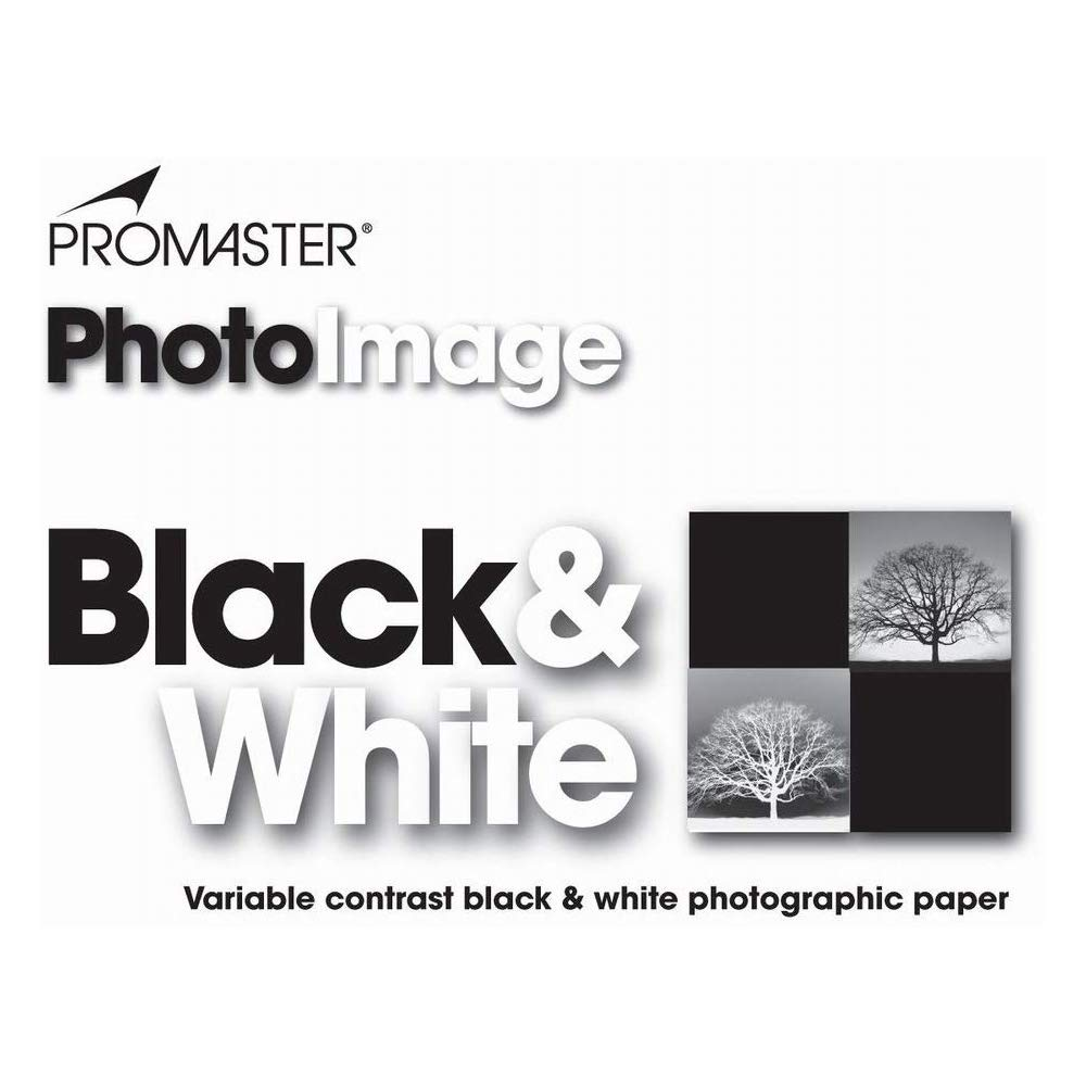 PhotoImage B&W VC Photo Paper, 8x10, 25 Pk Luster by ProMaster