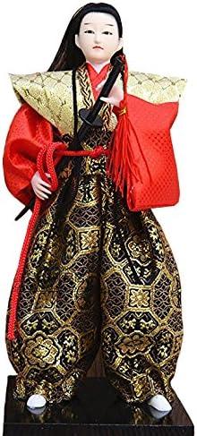 Japanese Samurai Art doll decor Katana Sword Ninja Shi Warrior Figurine statue 12