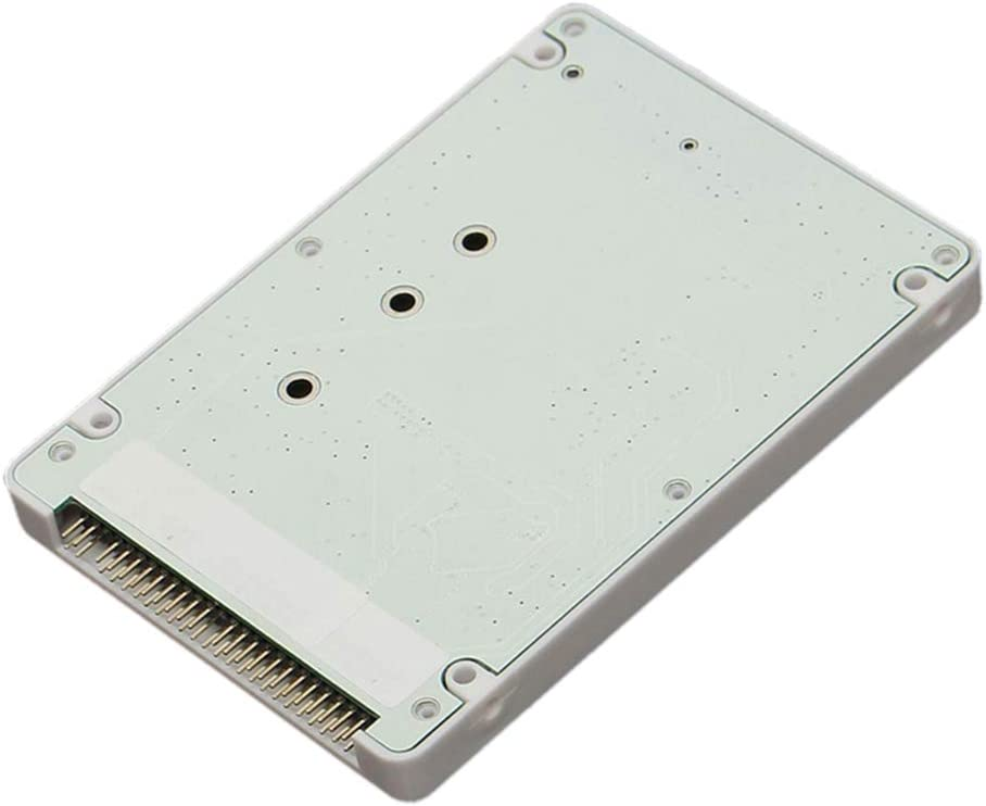 B Blesiya 1x M.2 NGFF SSD a 2.5 IDE 44Pin Convertidor Caja de ...