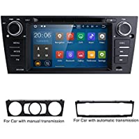 For BMW E90/2006-2011 E91/2006-2011 E92/2006-2011 E93 Android 7.1 Quad Core 7 Inch Car Stereo Multi-Touch Screen Radio CD DVD Player 1080P Video Screen