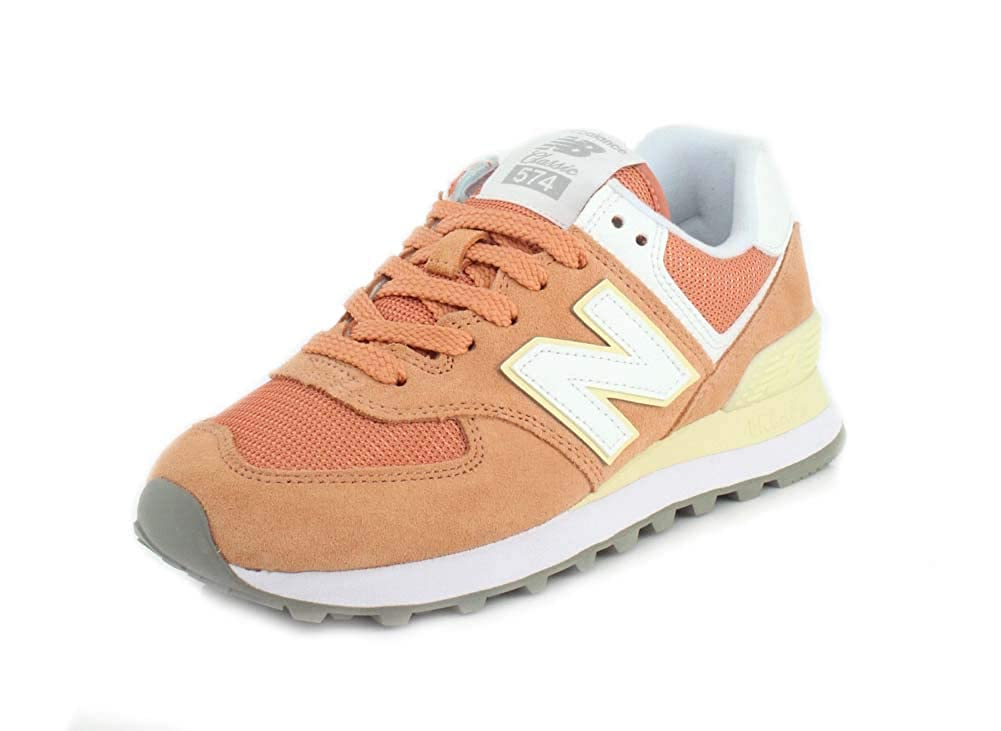 New Balance 574v2, Hausschuhe para damen Orange