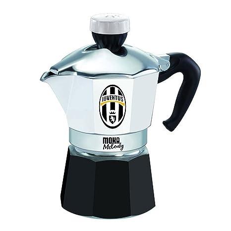 Bialetti Cafetera Moka Melody 3 tazas con Inno y logotipo del ...