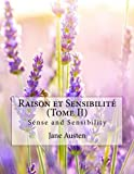 img - for Raison et Sensibilit  (Tome II): Sense and Sensibility (French Edition) book / textbook / text book