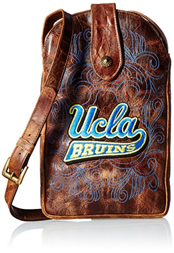 NCAA UCLA Bruins Women's Cross Body Purse, Brass, One Size by Gameday Boots