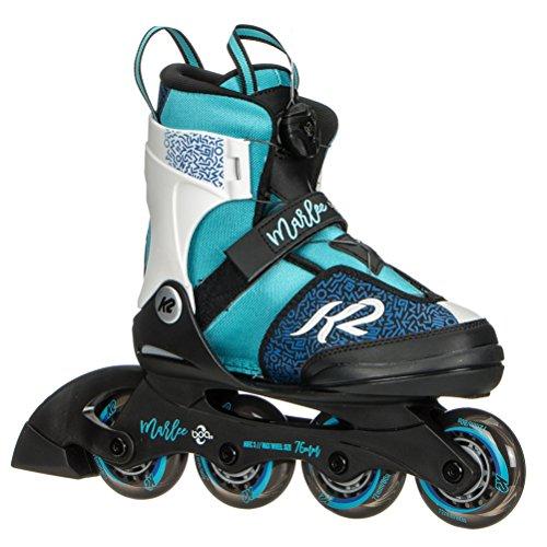 K2 Skate Marlee Boa Inline Skates, Blue/Black/White, Size 1-5 (Best Professional Inline Skates)
