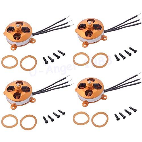 Kamas 4pcs/lot A2204 1400KV / 1450KV /1600KV 2S 3S Outrunner Micro Brushless Motor for RC Multicopter Wholesale - (Color: 1450KV)