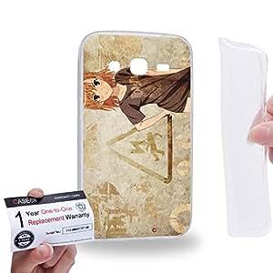 Case88 [Samsung Galaxy Core Prime G360] Gel TPU Carcasa/Funda & Tarjeta de garantía - A Certain Magical Index Accelerator A Certain Scientific Railgun Mikoto Misaka 1301