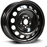 RTX, Steel Rim, New Aftermarket Wheel, 16X6.5, 5X112, 57.1, 50, black finish X99127N