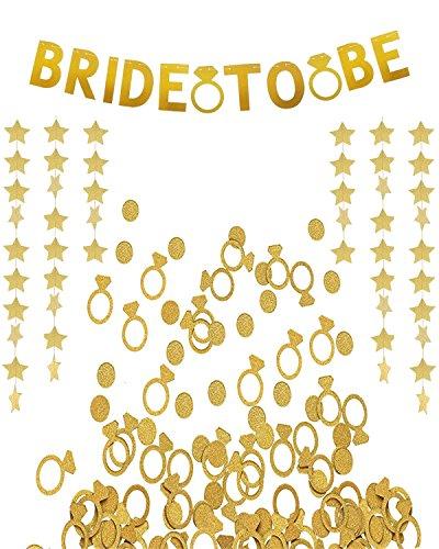LOLOAJOY Wedding Bride To Be Decorations Kit Classy