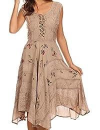 Sakkas Fairy Maiden Corset Style Dress