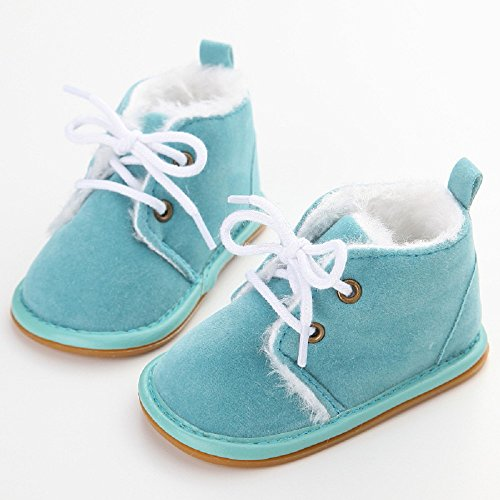 Baby Blue neve Presepe Baby Shoes Sky Stivali gomma gomma in per Prewalker bambini Auxma da in rgAnxr