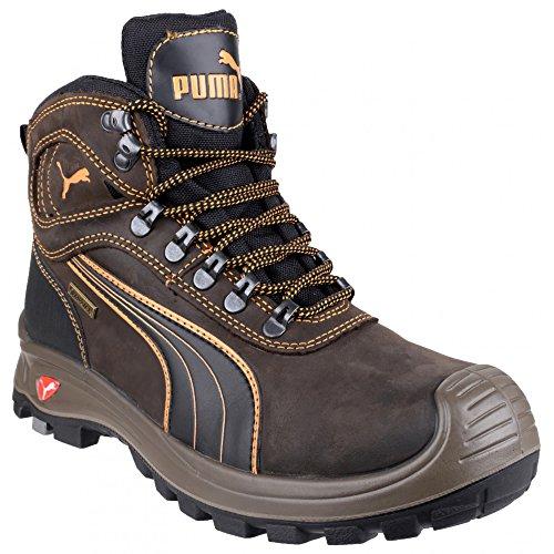 Safety Nevada Chaussures sécurité Sierra Homme de Mid Marron Puma Montantes dTSAqxwdE