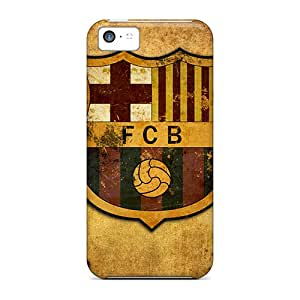 Snap-on Fc Barcelona Case Cover Skin Compatible With Iphone 5c