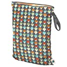 Planet Wise Wet Diaper Bag, Toadstools, Large