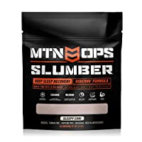 MTN OPS Slumber Deep Sleep Aid & Muscle Recovery Supplement - 30 Servings, Sleepy Chai