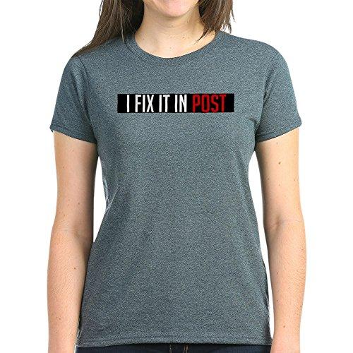 CafePress Post-Production - Womens Cotton T-Shirt