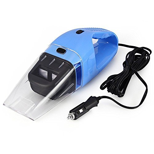 120W 12V Car Vacuum Cleaner Handheld Wet Dry 2 Use Super Suction 5m Cable CUS