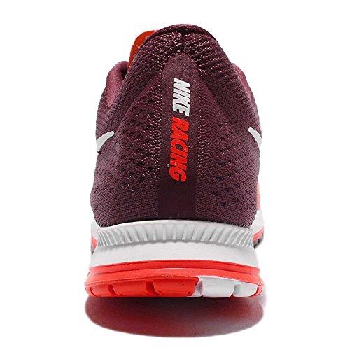 Nike Zoom Streak 6, Zapatillas de Running para Hombre Rojo (Rojo (bright crimson/white-night maroon-white))