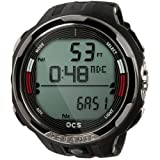 Oceanic OCS Scuba Dive Computer Wrist Watch, Red