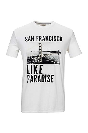 À Motif Shirts HommeCouleurCrème Classics Marlboro T Shirt gI6bfY7yv