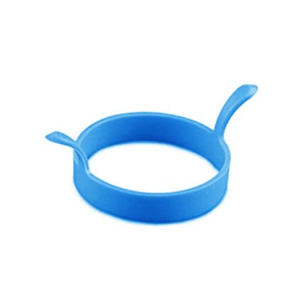 Silicone Round Omelette Fry Egg Ring Pancake Poach Mold Kitchen Cooking Tool