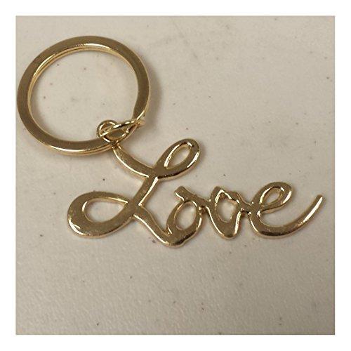 Gold Love Key Chain (Love Keychain)