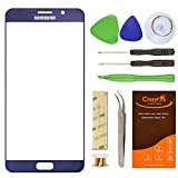 galaxy 5 screen repair kit - Samsung Galaxy Note 5 Replacement Glass Lens Screen, CrazyFire Repair Kit for Samsung Galaxy Note5 N9200 N920A N920P N920T N920R N920R4 with Adhesive and Tools (Pebble Blue)