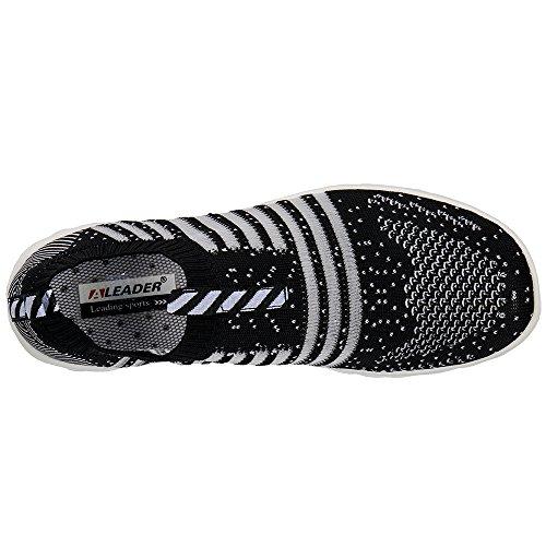Scarpe Da Acqua Slip-on Hydro Lite-knit Da Donna Aleader Nere