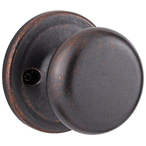 Kwikset Juno Closet Rustic Bronze