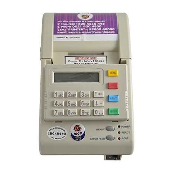 WEP BP-20 Standalone Billing Machine (White) 1