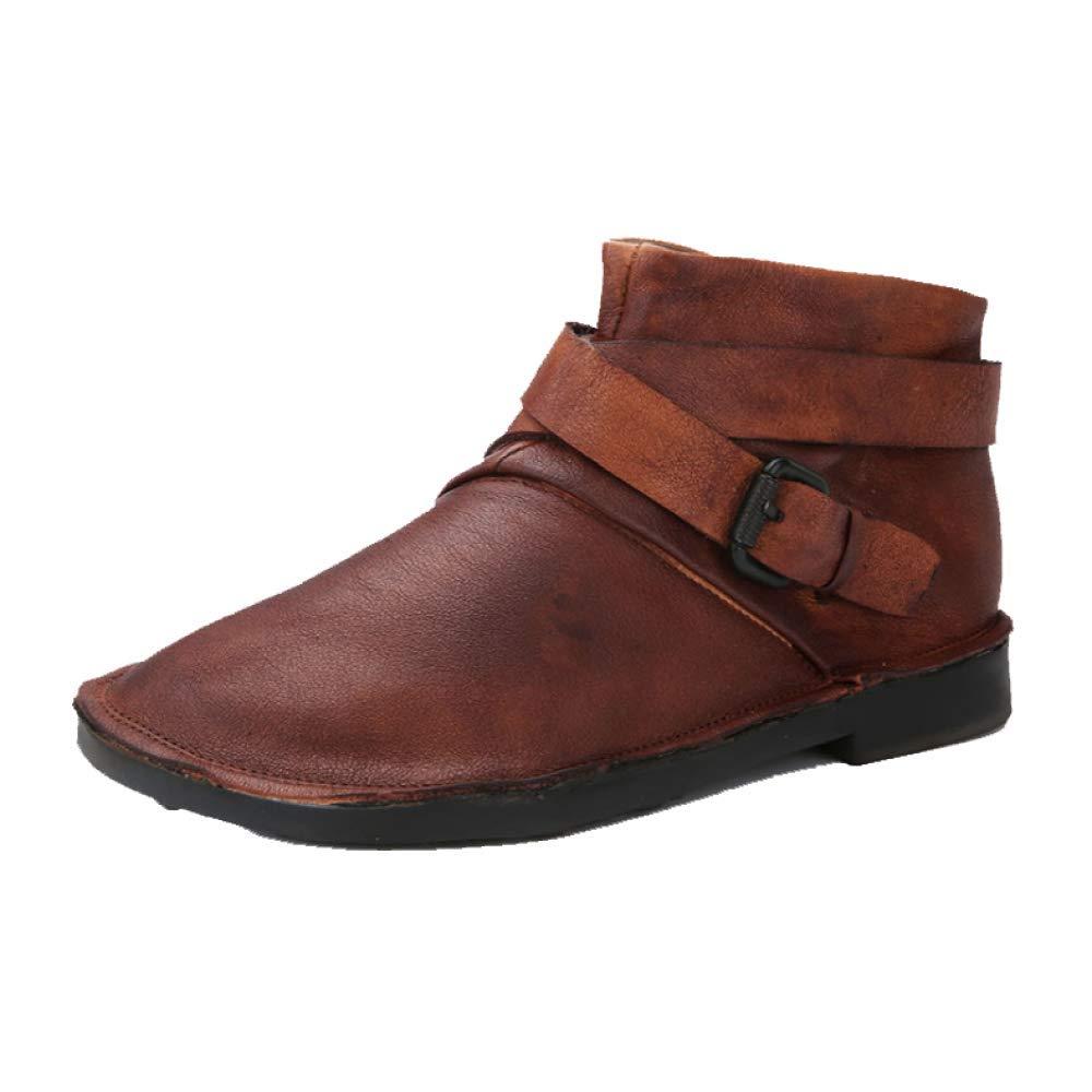 ZPEDY Chaussures pour Chaussures Femmes, Rétro, pour Chaussons, Fond Mou, Confortable, ZPEDY Décontracté, Portable Brown cec9905 - fast-weightloss-diet.space