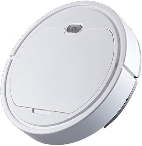 Robot aspirador USB Robot super silencioso de piso silencioso con limpiador de limpieza inteligente para pisos duros baldosas alfombras cuidado del cabello para mascotas: Amazon.es: Hogar