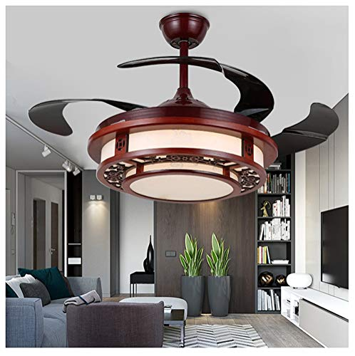 SNOOKER Modern Ceiling Fan Light Electric Ceiling Fan with Light for Dining Fan Fan Chandelier Lamp for Restaurant, Living Room, Bedroom 42 Inch -0259