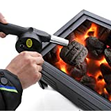 Coldtoy BBQ Hand Crank Air Blower, Barbecue Fire Picnic Camping Tools