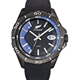 All Blacks - 680285 - Montre Homme - Quartz Analogique - Cadran Noir - Bracelet Silicone Noir
