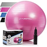 Exercise Ball - 2,000 lbs Stability Ball - Professional Grade – Anti Burst Exercise Equipment for Home, Balance, Gym,...