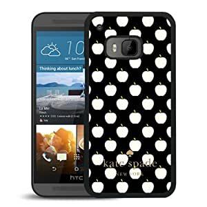 Beautiful DIY Designed Kate Spade Cover Case For HTC ONE M9 Black Phone Case 136