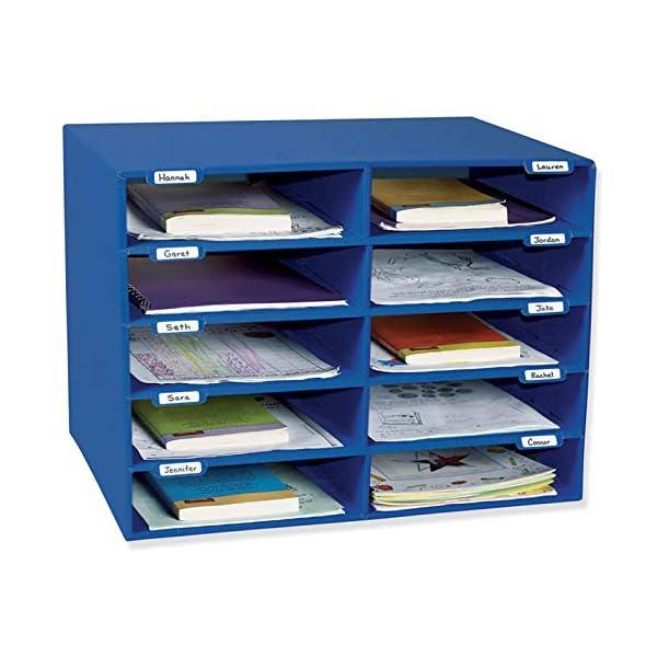 Paper organizer tray 10 slots
