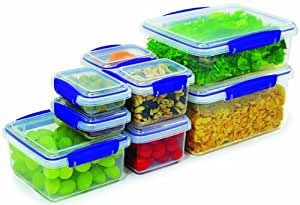 Sistema Kip It Collection Multi Piece Food Storage Containers, Set of 16