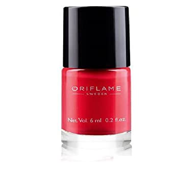 Buy Oriflame Pure Colour Nail Polish (Coral Red) Online at Low ...