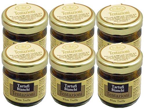 Whole White Truffle in Brine by Tentazioni (Case of 6 - .44 Ounce Jars)