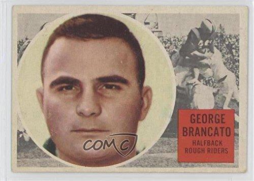 George Brancato (Football Card) 1960 Topps CFL - [Base] #60